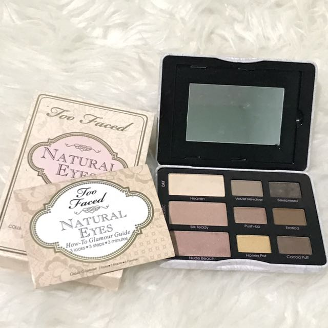 Too Faced Natural Eye Shadow