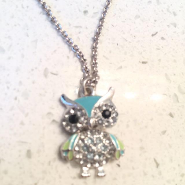 Torquoise Owl Pendant