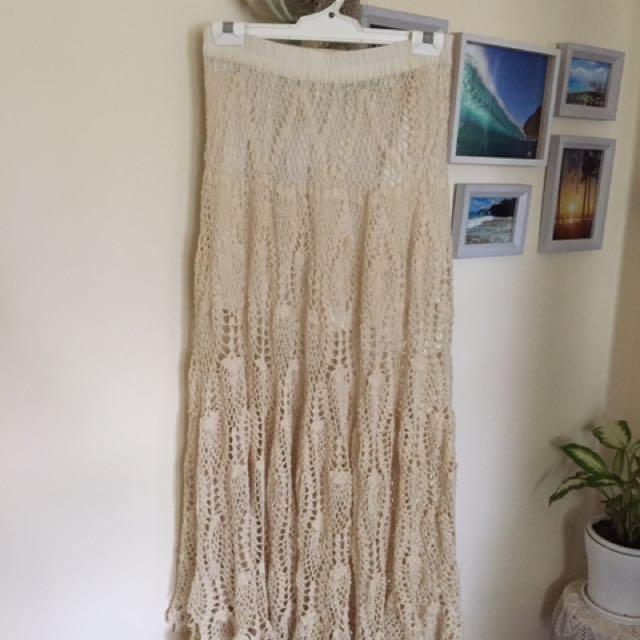 Tree Of Life Crochet Skirt