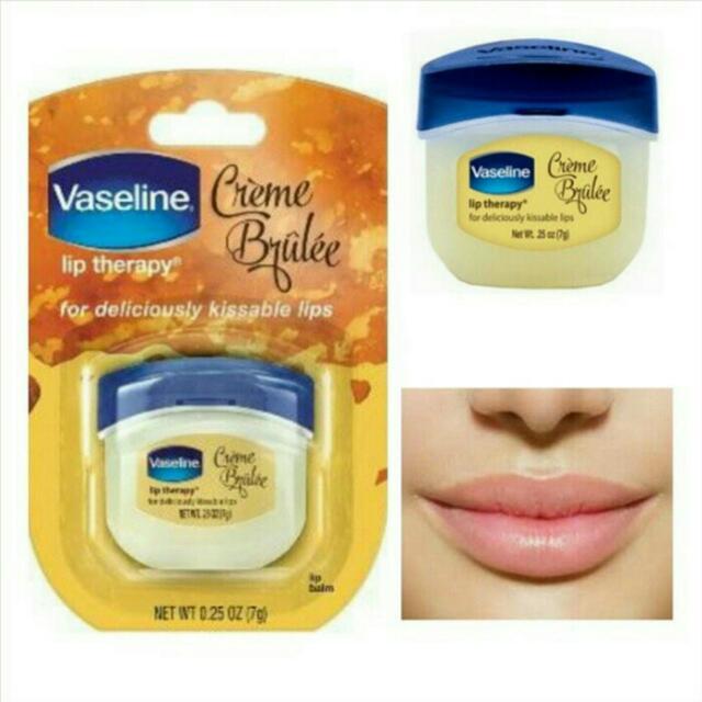 Vaseline Lip Theraphy Mini Creme Brulee