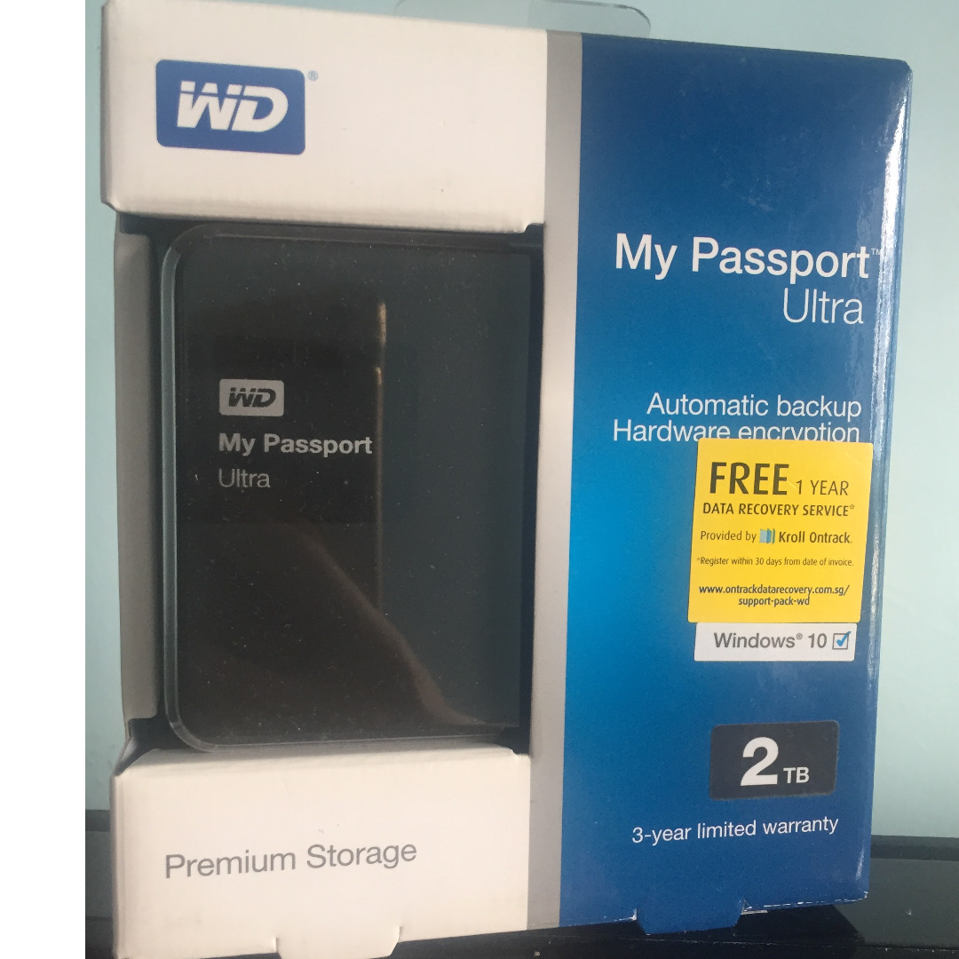 Western Digital WD My Passport New 2TB Portable External