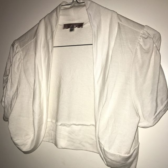 White Mini Jacker