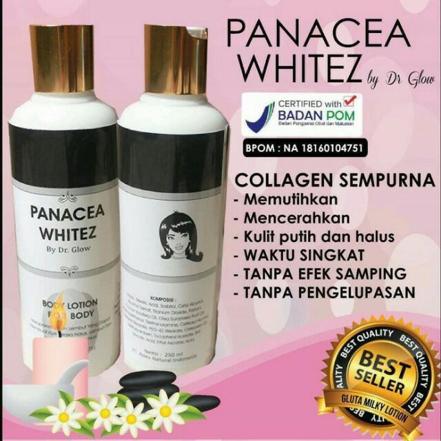 Whitez Panacea Whitening Lotion BPOM By Dr.Glow