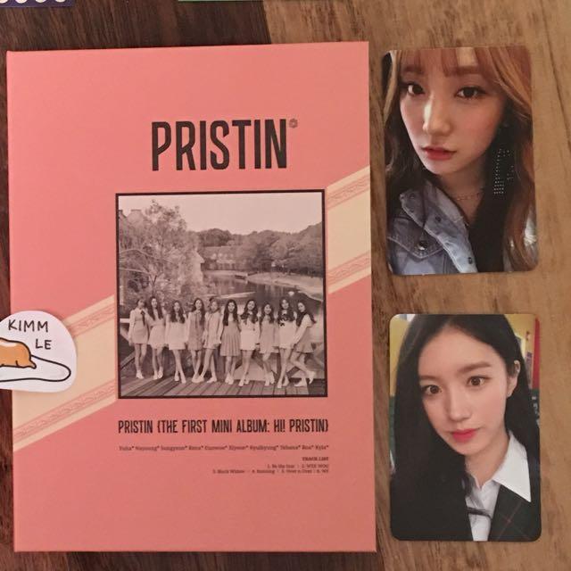 WTS Pristin's HI! PRISTIN (Elastin)