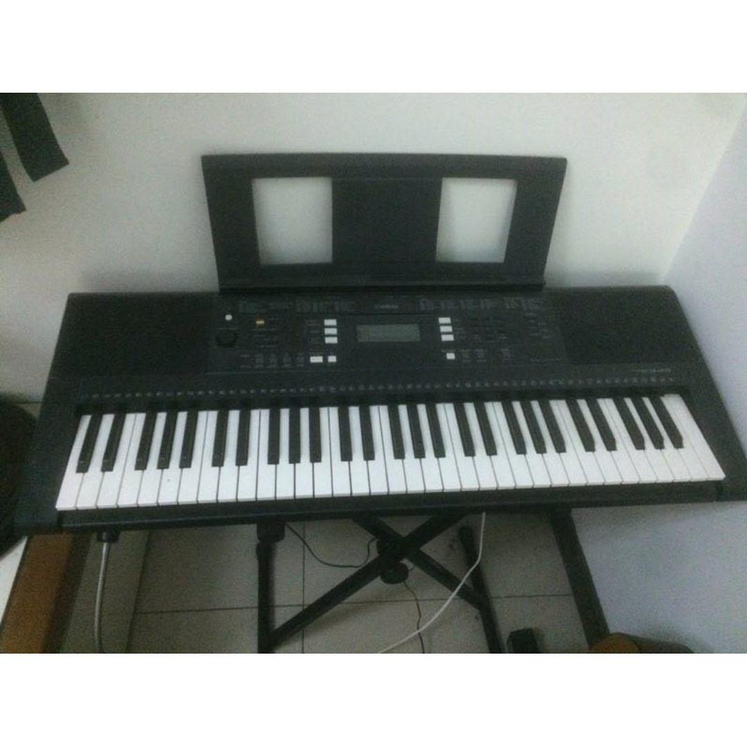 YAMAHA psr e343 鍵盤樂器