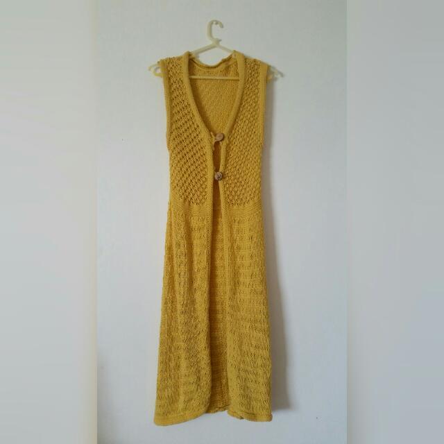 Yellow Summer Cardigan