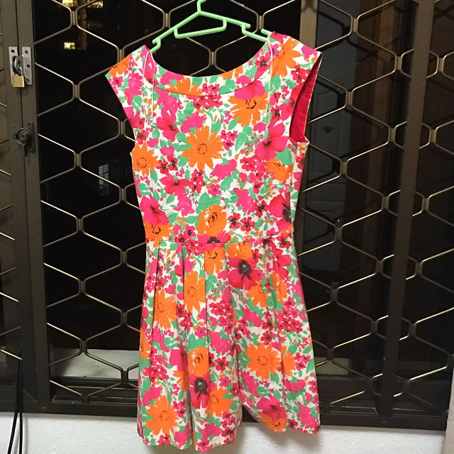 c43c57c92 Zara Bright Floral Dress Size S -Only Worn Once For Wedding, Women's ...