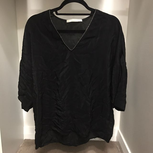 Zara over sized top