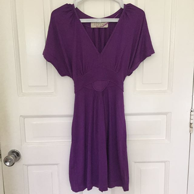 Zara Purple Tunic