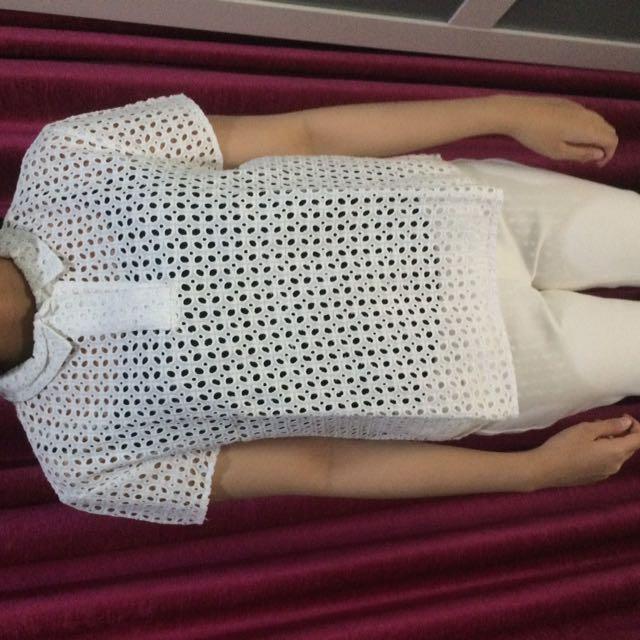 Zara Trafaluc White Shirt