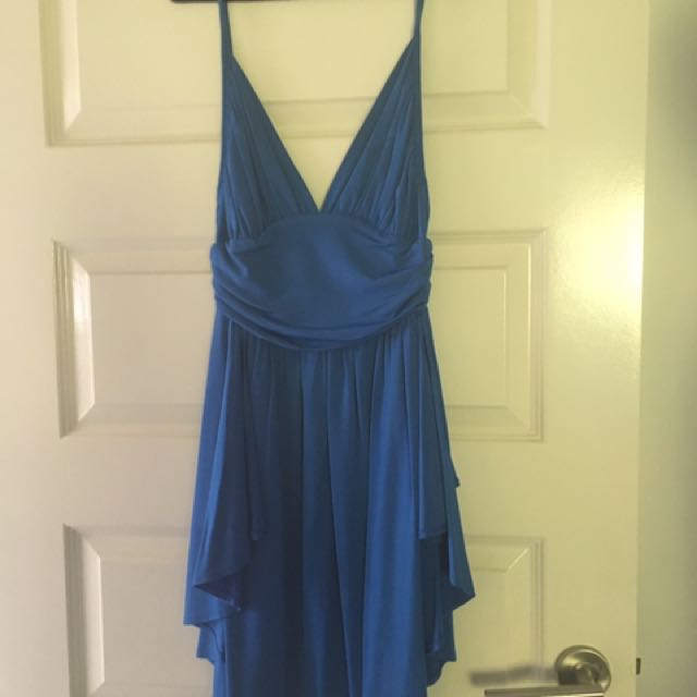 Zimmermann Cobalt Blue Dress