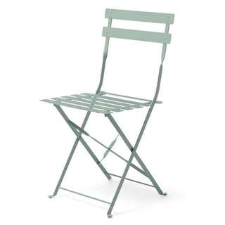 Four Metal Folding Chairs