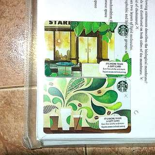Used Starbuck Cards with NO VALUE