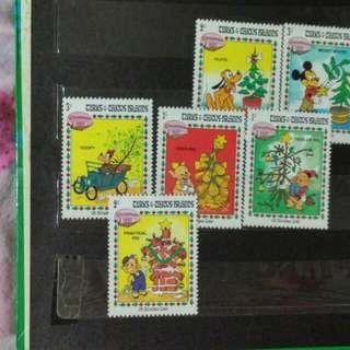 迪士尼郵票