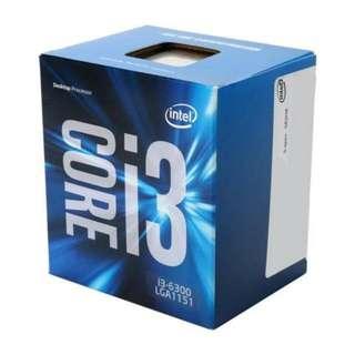 BN Sealed Intel Core i3-6300 #CyberMondaySale