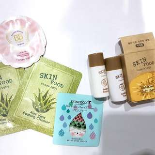 Skin Food Etude Sample