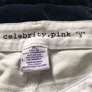 Size 3 White Jeans