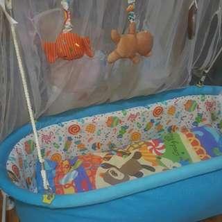 Baby Swinging Cradle