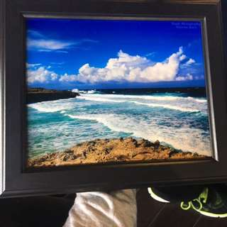 Aruba Beach Original Photo With Frame
