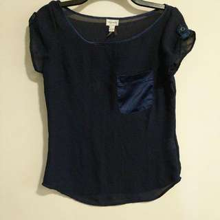 Dark blue top from dynamite