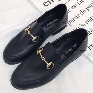 Leather Loafers (Gucci Dupe)