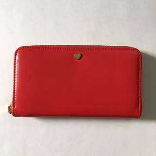 Red Wallet from Indigo
