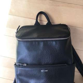 Matt and Nat Black Backpack