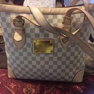 Damier Azur Louis Vuitton Tote Bag