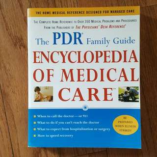 Encyclopedia Of Medical Care