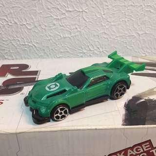 Green Lantern HotWheels Car