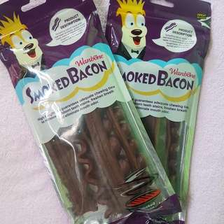 Smoked Bacon Dog Treat