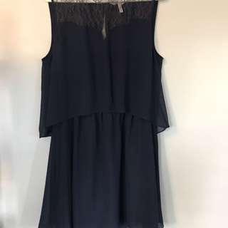 BCBG Dark Blue Dress