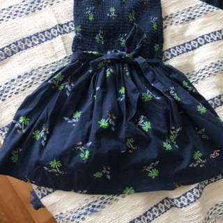 Patterned Summer Dress - Small