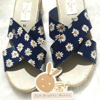 Vintage Daisy Custom Design Sandals