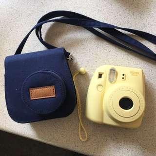 Instax Polaroid Camera + Case