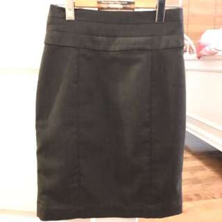 Charcoal Pencil Skirt Size 4