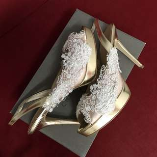 Charles & Keith Wedding Shoes