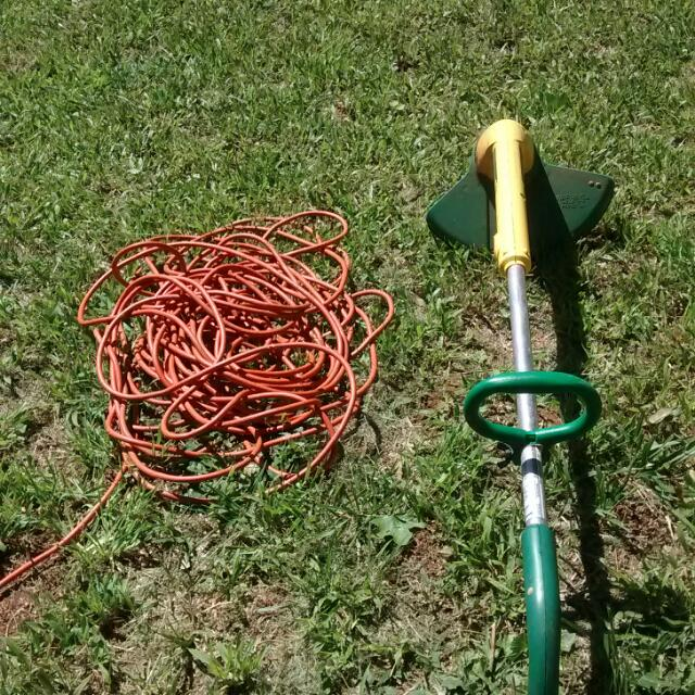 100 Foot Drop Cord Electric Weedeater