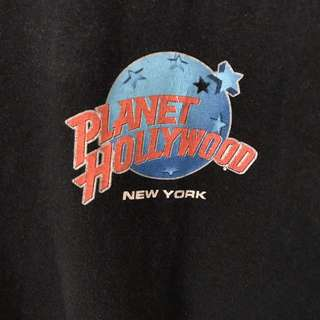 Vintage Authentic Planet Hollywood Tshirt