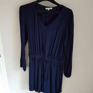 COLORBOX JUMPSUIT BLUE