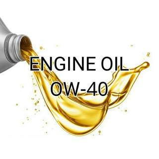 0W-40 Engine Oil - New