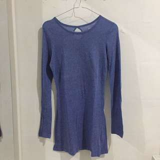 Denim&Co Long Top