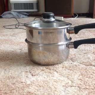 20cm Saucepan With Steamer