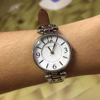 Authentic Red Strap Anne Klein Watch