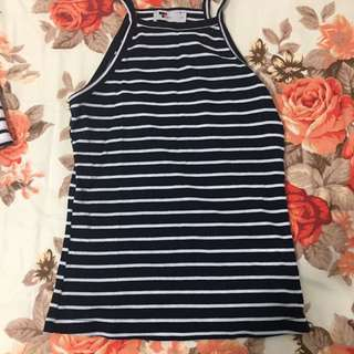 Size S Striped Tank