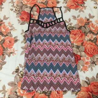 Size S Patterned Tank