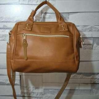 Anello Medium 3 way Leather Bag