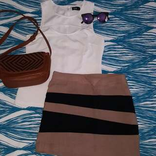 Top And Skirt Set