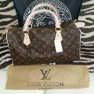 Loui Vuitton Speedy Bag New Monogram Design