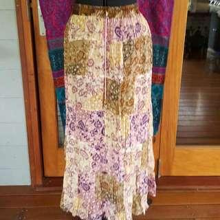 Tree Of Life Maxi Skirt